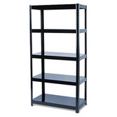 Steel Book Shelves 5 Layers